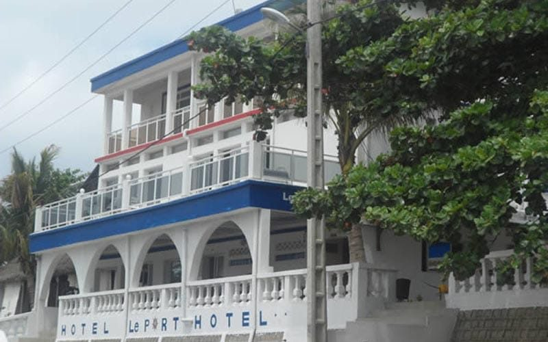 The port hotel in Fort Dauphin - Madagascar