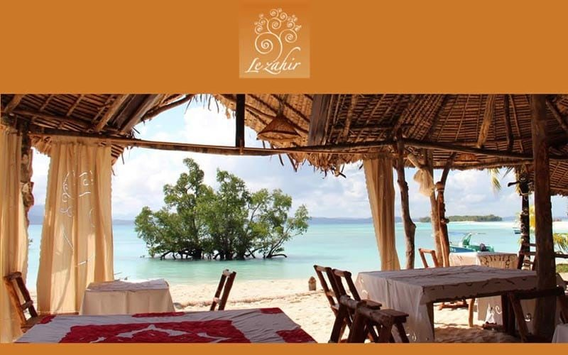 The zahir lodge in Nosy Be - Madagascar