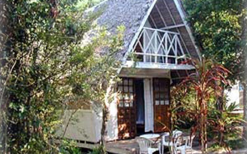 Acacia bungalows in Mahambo - Madagascar