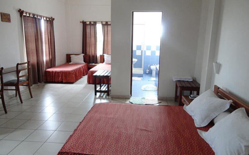 Hotel Longo w mieście Tamatave - Madagaskar