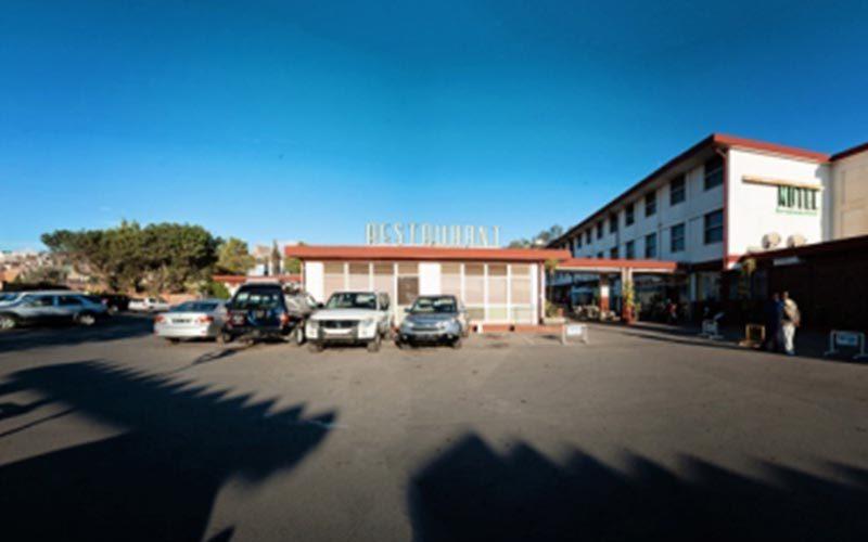 Hotel Stitched Panorama w Antananarivo - Madagaskar