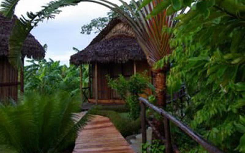 Dom wędkarski Radama na Nosy Be - Madagaskar