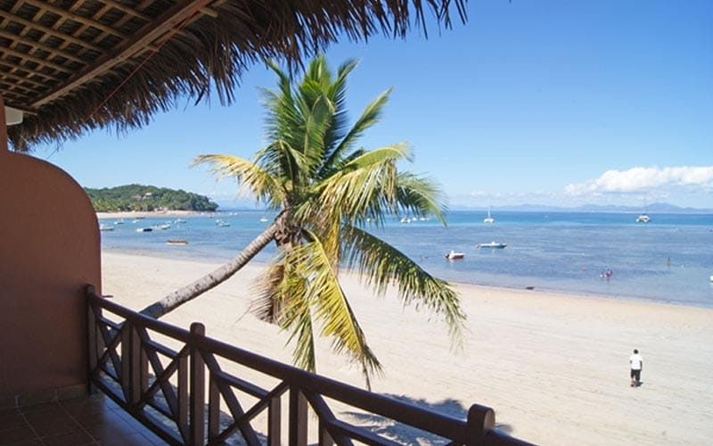 R2sidence with white sand in Nosy Be - Madagascar