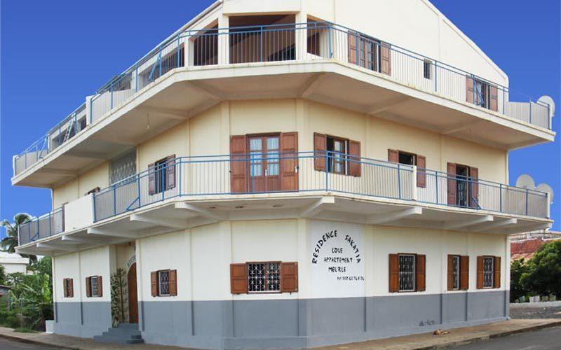 Sakatia zamieszkania w Diego-Suarez - Madagaskar