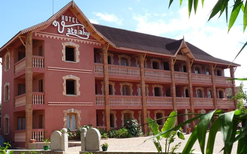 Hotel Vatolahy w mieście Antsirabe - Madagaskar
