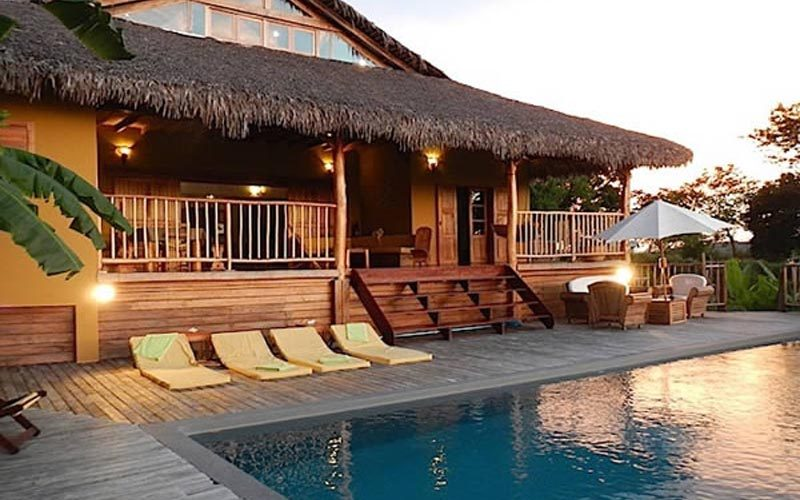Villa jongoa à Nosy Be - Madagascar